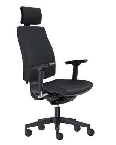 Kancelárska stolička JOHN čierna