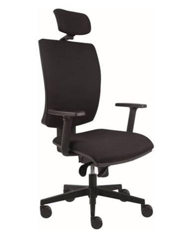 Kancelárska stolička LAUREN čierna