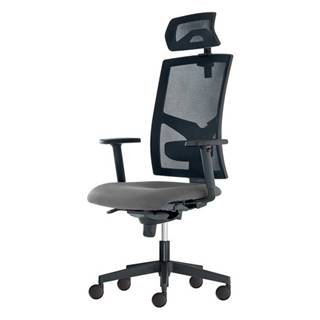Kancelárska stolička PAIGE sivá