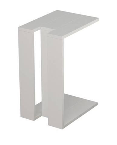 Prístavný stolík MUJU biela