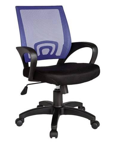 Otočná Stolička Pre Dieťa Rivoli Čierna/modrá