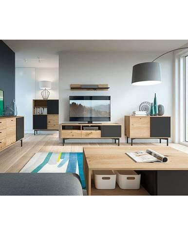 Forso obývacia izba dub artisan