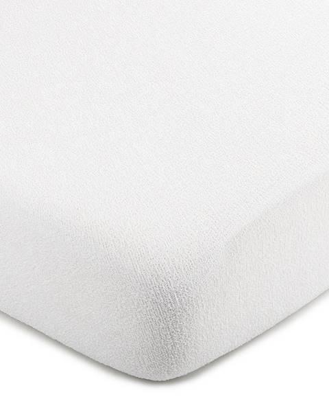 4Home 4Home froté prestieradlo biela, 90 x 200 cm