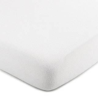 4Home froté prestieradlo biela, 90 x 200 cm