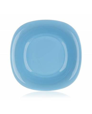 Luminarc Hranatý hlboký tanier CARINE 21 cm, 6 ks, modrá