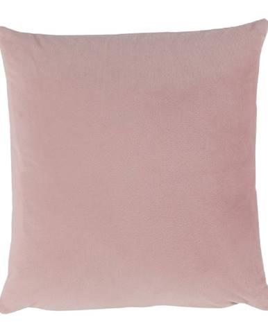 Vankúš zamatová látka púdrová ružová 60x60 OLAJA TYP 2