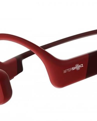 Bezdrôtové slúchadlá AfterShokz Aeropex, červené