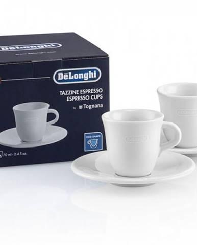 Keramický hrnček na espresso DeLonghi DLSC308, 2ks