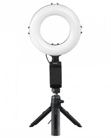 """Kruhové LED svetlo Hama 6,7"""" pre smartfóny/tablety, s Bluetoooth"""
