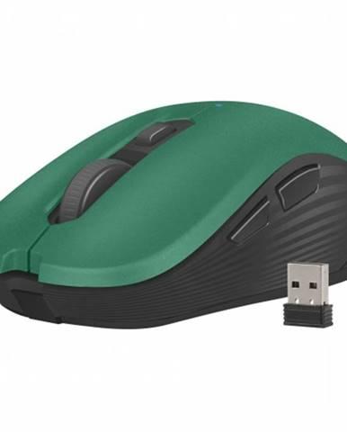 Bezdrôtová myš Natec ROBIN, 1600 DPI, zelená