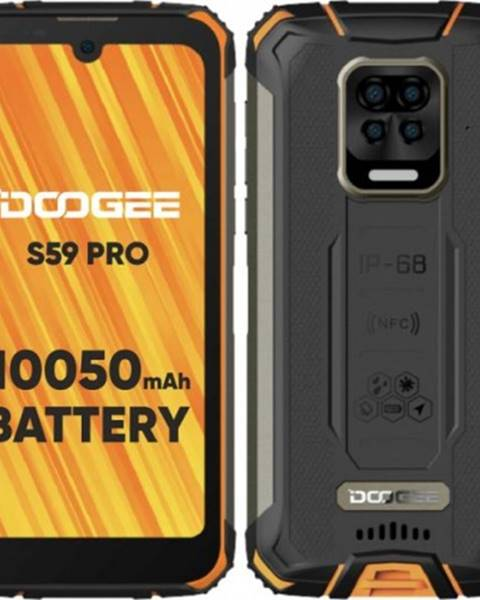 Doogee Odolný telefón Doogee S59 PRO 4 GB/128 GB, oranžový