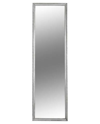 Zrkadlo strieborný drevený rám MALKIA TYP 3