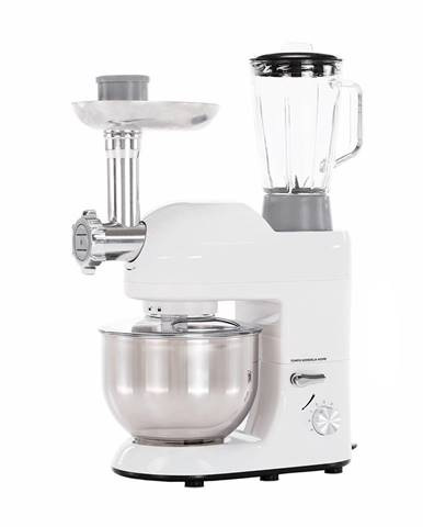 Kuchynský robot 1800 W 5 l lesklá biela/chróm KANTE