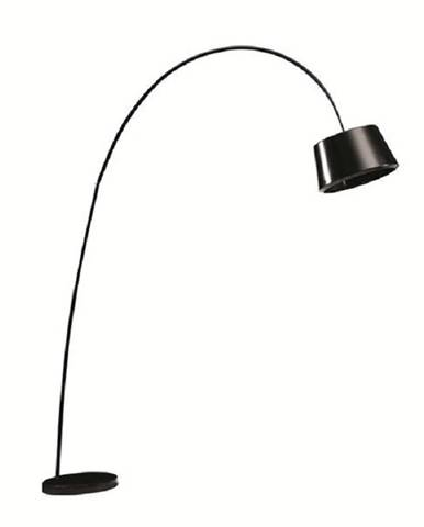 Oblúková lampa čierna/mramor CINDA TYP 18 F1090 poškodený tovar