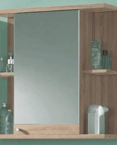 Kúpeľňová skrinka so zrkadlom Poseidon, dub Sonoma%