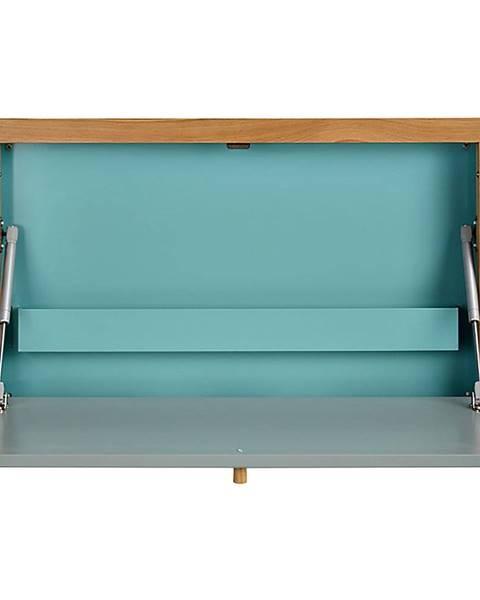 Woodman Modrý vyklápací stôl Woodman Banti