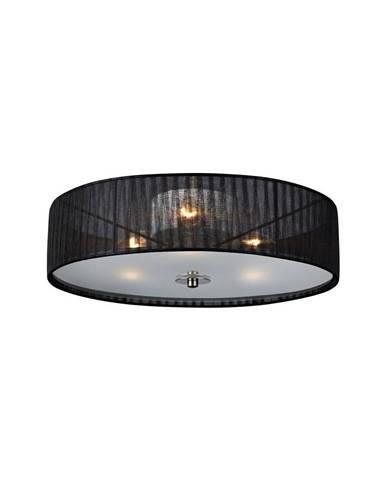Čierne stropné svietidlo Markslöjd Byske, ⌀ 40 cm