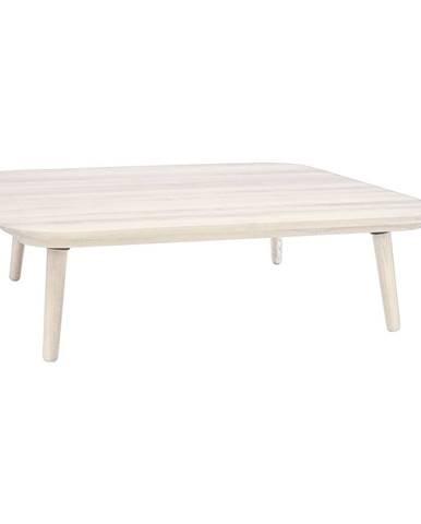 Biely konferenčný stolík z jaseňového dreva Ragaba Contrast Tetra