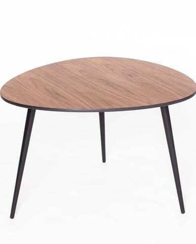 Konferenčný stolík s čiernymi nohami Ragaba Pawi Pick, 67 x 62 cm