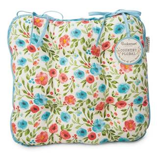 Bavlnený sedák Cooksmart ® Country Floral