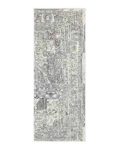 Sivo-krémový behúň Hanse Home Celebration Garitto, 80 x 250 cm