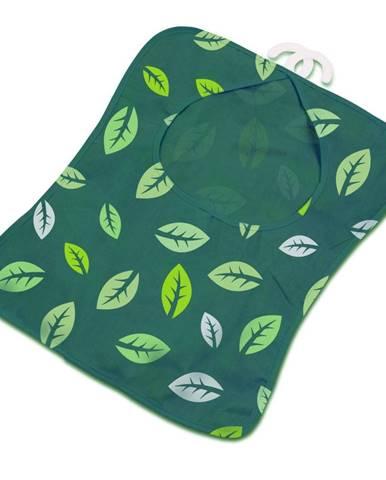 Zelená závesná taštička na štipce na bielizeň Addis Peg Bag Dark Green Leafes