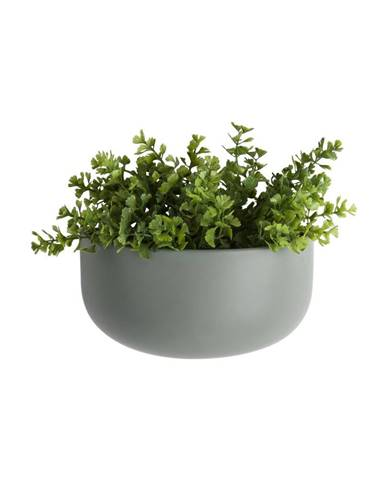 Matne zelený nástenný keramický kvetináč PT LIVING Nest