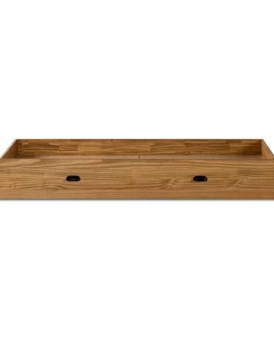 Zásuvka pod posteľ z borovicového dreva Marckeric Manhattan