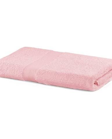 Ružová osuška DecoKing Marina, 70×140 cm