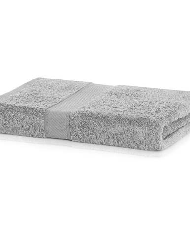 Sivá osuška DecoKing Bamby, 70 × 140 cm