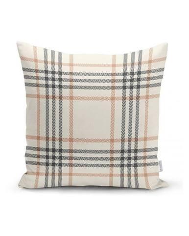 Sivo-béžová dekoratívna obliečka na vankúš Minimalist Cushion Covers Burberry, 35 x 55 cm