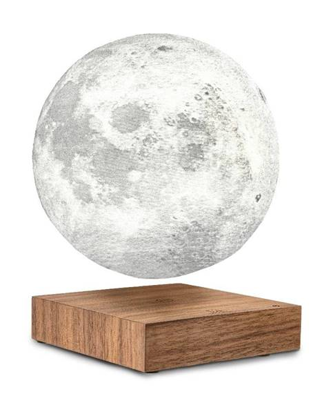 Gingko Stolová levitujúca lampa v tvare mesiaca Gingko Moon Walnut