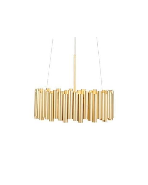 Markslöjd Závesné svietidlo v zlatej farbe Markslöjd Level 3L