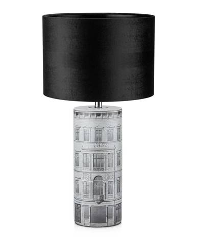 Čierna stolová lampa Markslöjd ICHI