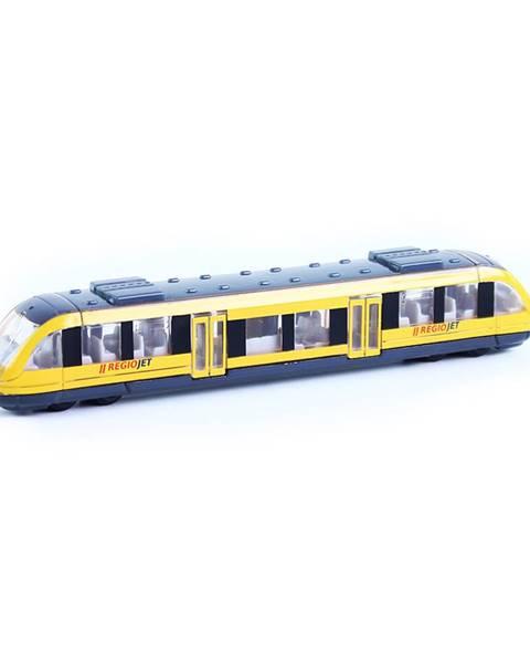 Rappa Rappa Kovový regionálny vlak RegioJet, 17 cm