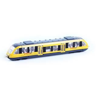 Rappa Kovový regionálny vlak RegioJet, 17 cm