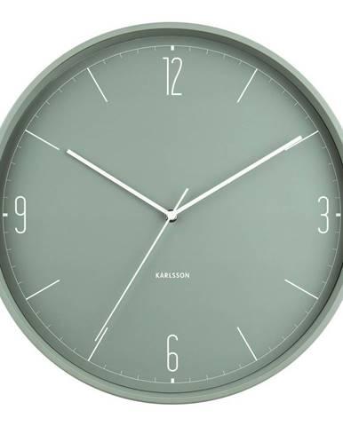 Karlsson 5735GR dizajnové nástenné hodiny, pr. 40 cm