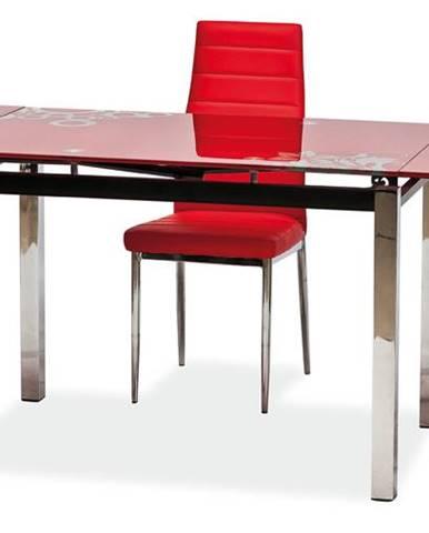 Signal Jedálenský stôl GD-017 červený