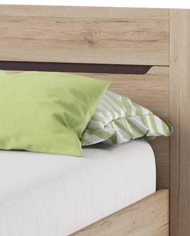 Szynaka Manželská posteľ Desjo 50