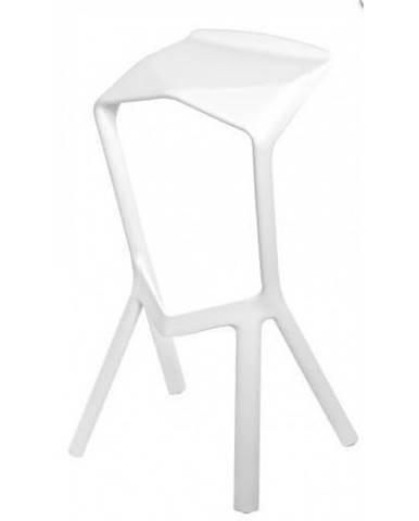 ArtD Barová stolička MU inšpirovaná Miura biela