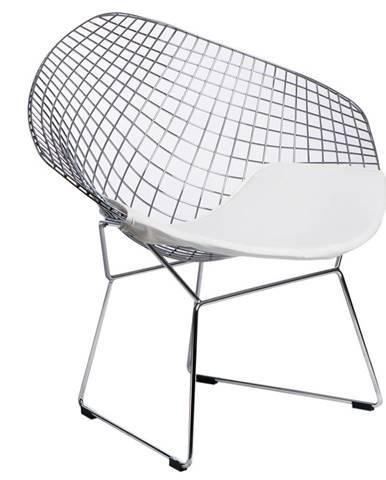 ArtD Jedálenská stolička HarryArm inšpirovaná Diamond Armchair