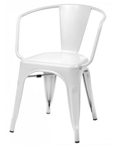 ArtD Jedálenská stolička Paris Arms inšpirovaná Tolix