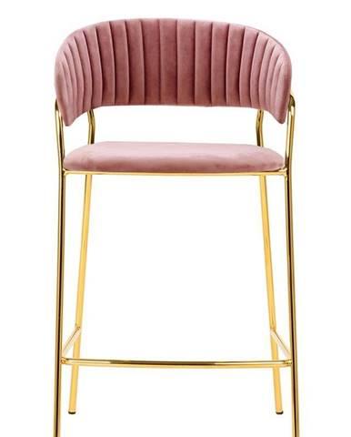 ArtKing Barová stolička MARGO 65 staro-ružová