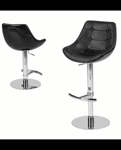 ArtKing Barová stolička Passion Eko čierna