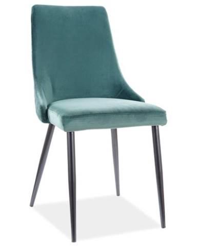 Signal Jedálenská stolička Piano B Velvet