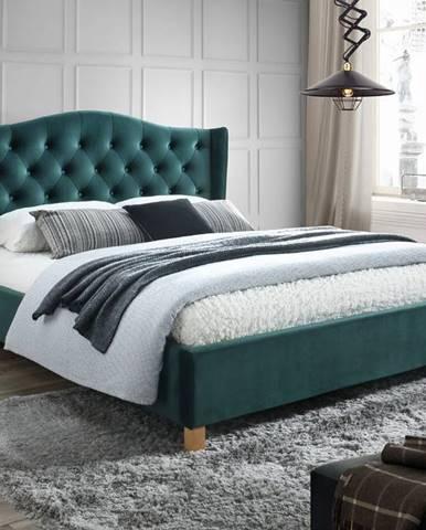 Signal Manželská posteľ Aspen Velvet 140x200 cm
