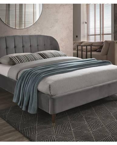 Signal Manželská posteľ Liguria Velvet 160x200 cm