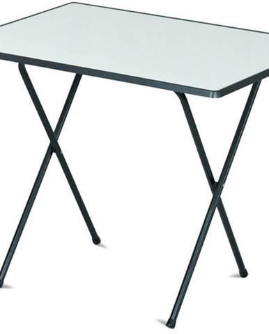 ArtRoja Stôl 60x80 camping SEVELIT antracit / biela