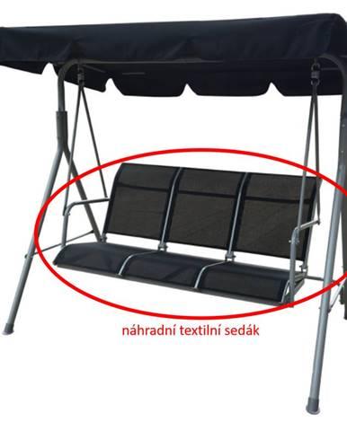 ArtRoja Látka na sedák k hojdačke NELLA - čierna