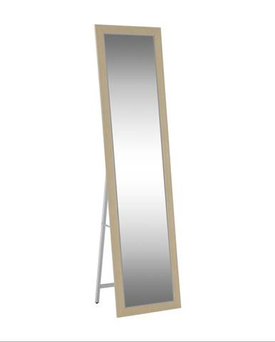 Zrkadlo béžová/biela ASUEL